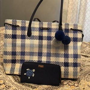Kate Spade New York tote and wallet